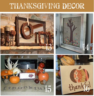 Thanksgiving Do It Yourself Home Decoration Tutorials