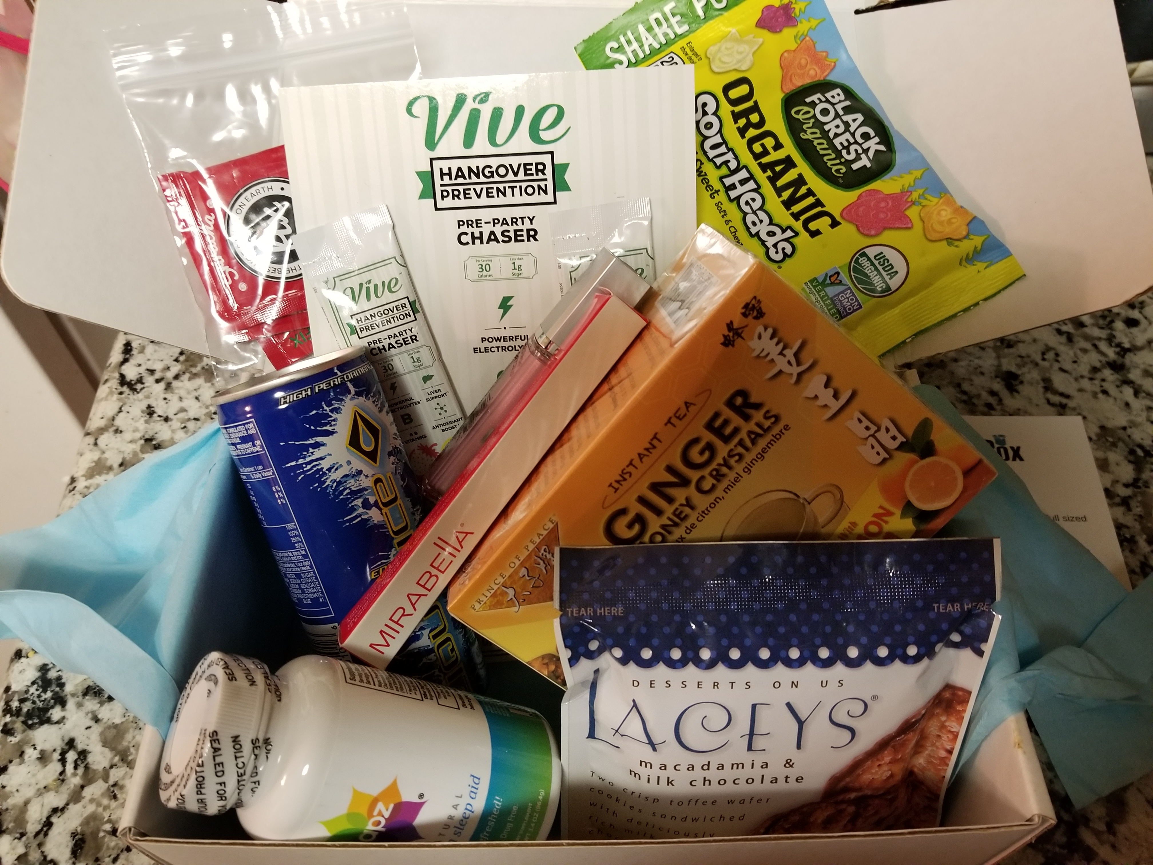 Daily goodie box november