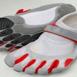 Vibram five fingers athletic shoes