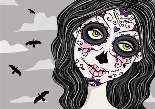 best sugar skull makeup tutorials