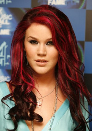 chunky-red-highlights