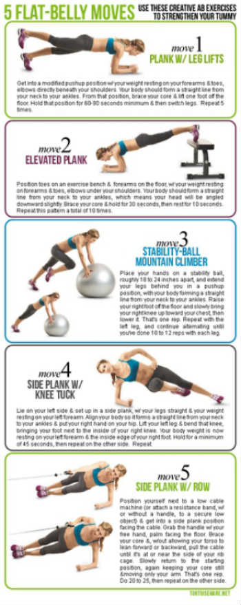 flat-belly-routine