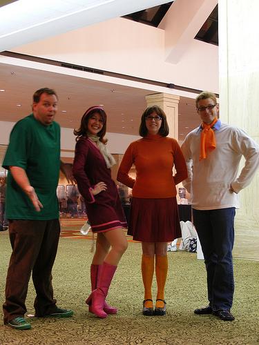 Daphne Velma scooby doo