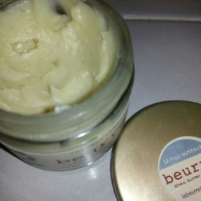 Le Beurre shop: shea butter skin care review