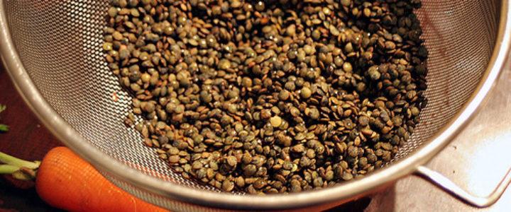 soaking-lentils