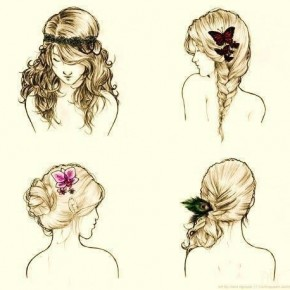 Perfect hairstyles for summertime