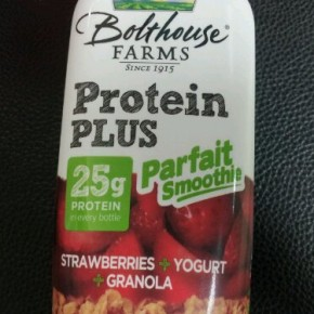 Bolthouse Farms protein parfait smoothie review